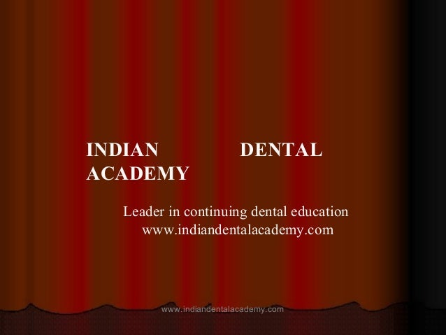 Complication & failure of implants /certified fixed orthodontic courses by Indian dental academy