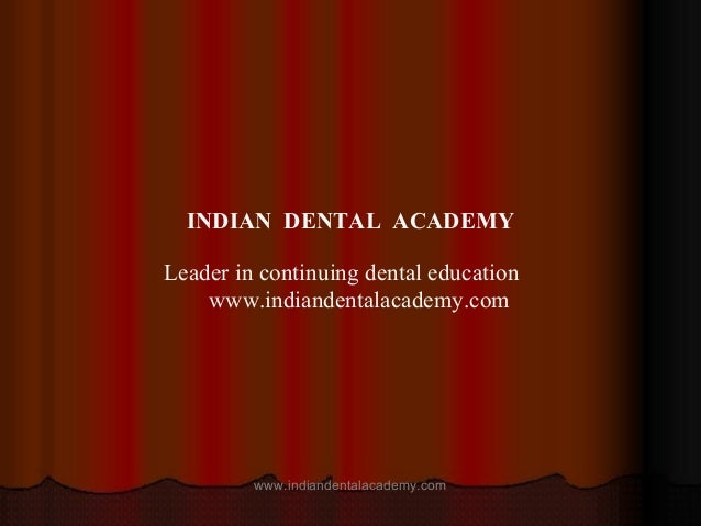 Complication & failure of implants / cosmetic dentistry training