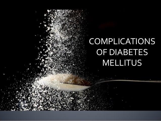 Complications of diabetes melitue