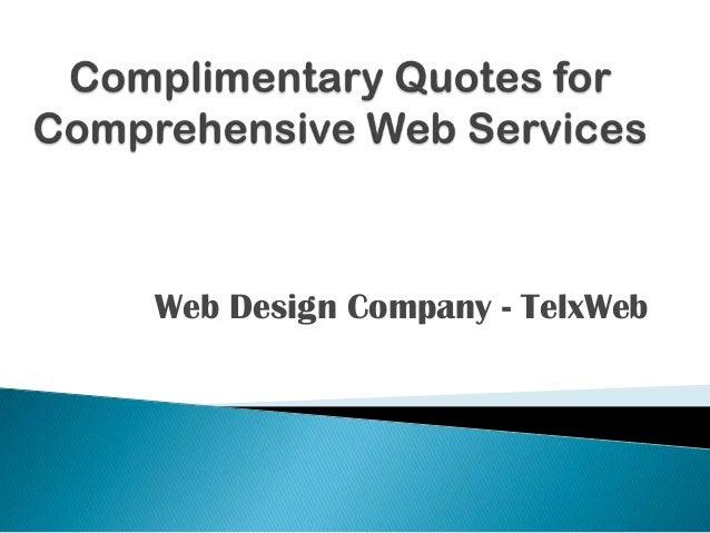 Web Design Company - TelxWeb