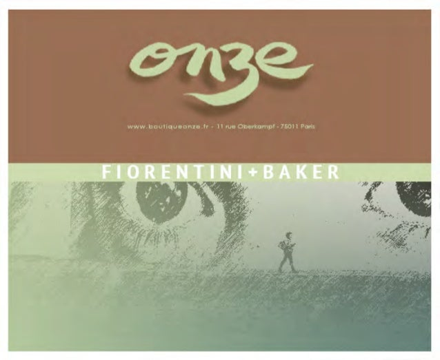 Collection Automne-Hiver 2014 FIORENTINI+BAKER
