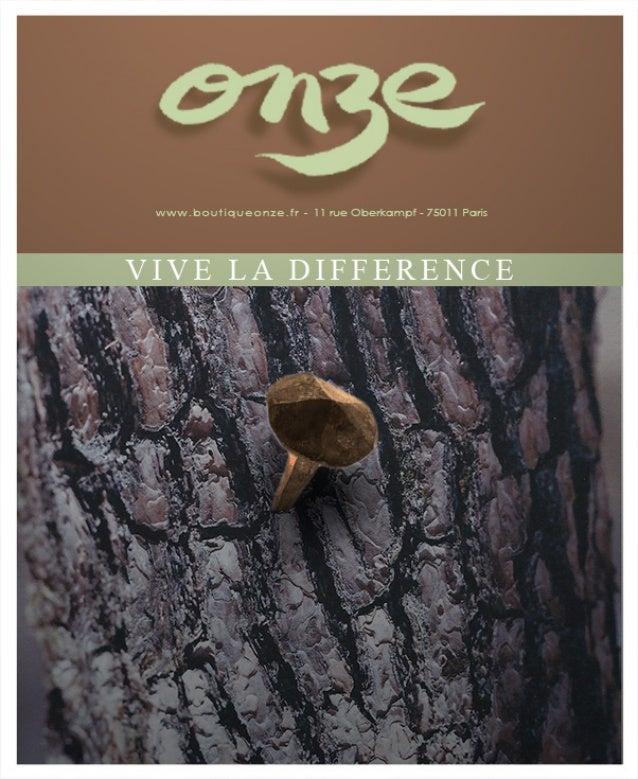 Collection Automne-Hiver 2014 / Vive la Différence