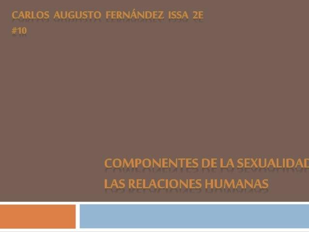 La sexualidades un tema que es muy importante para todos los seres humanos, porque todos vivimos la sexualidad. La sexuali...