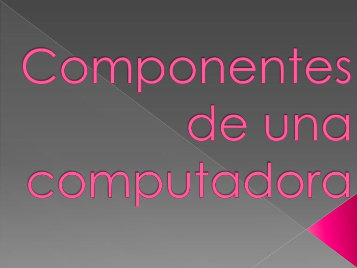    El monitor de computadora es un    visualizador que muestra al usuario los    resultados del procesamiento de una    c...