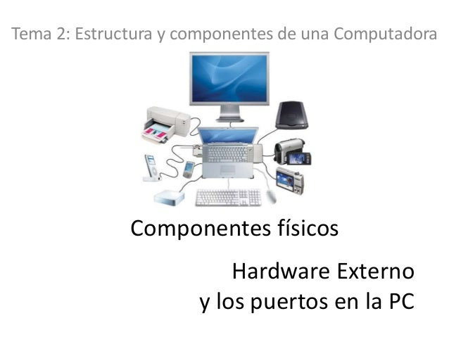 Componentes externos