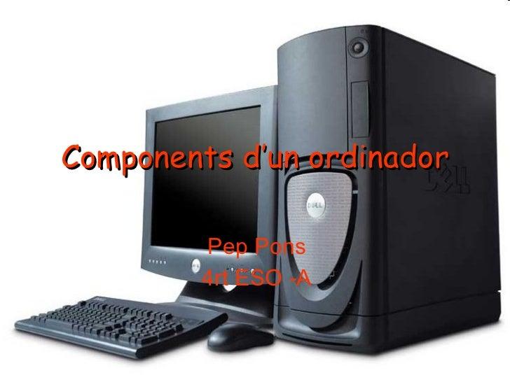 Components d'un ordinador