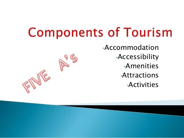 •Accommodation   •Accessibility     •Amenities    •Attractions      •Activities