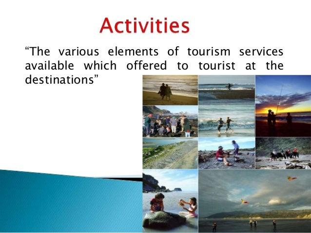 Tourism components relationship?