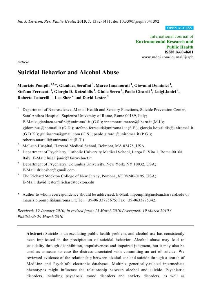 Int. J. Environ. Res. Public Health 2010, 7, 1392-1431; doi:10.3390/ijerph7041392                                         ...