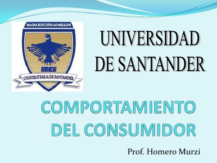 Prof. Homero Murzi