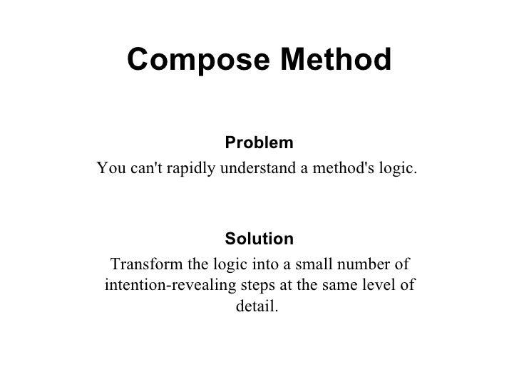 Compose Method