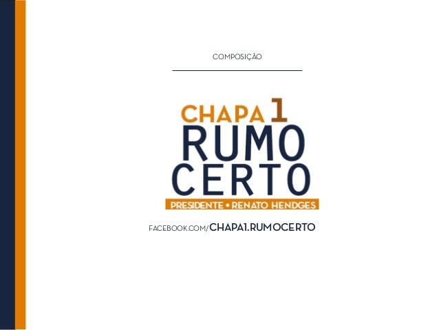 COMPOSIÇÃOFACEBOOK.COM/CHAPA1.RUMOCERTO