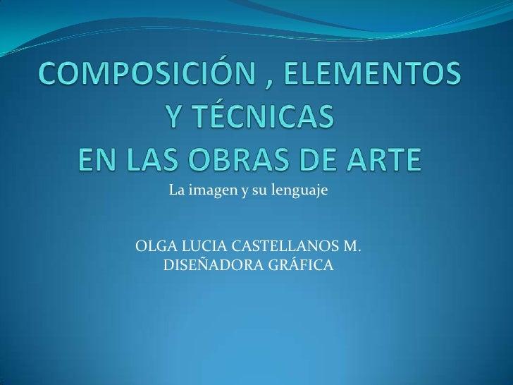 Composicion arte