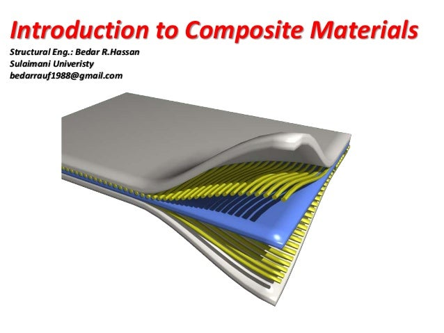 composite materials A composite material (also called a composition material or shortened to composite, which is the common name) is a material made from two or more constituent materials with significantly different physical or chemical properties that, when combined, produce a material with characteristics different from the individual components.