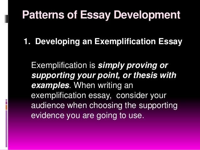 Development essay writing