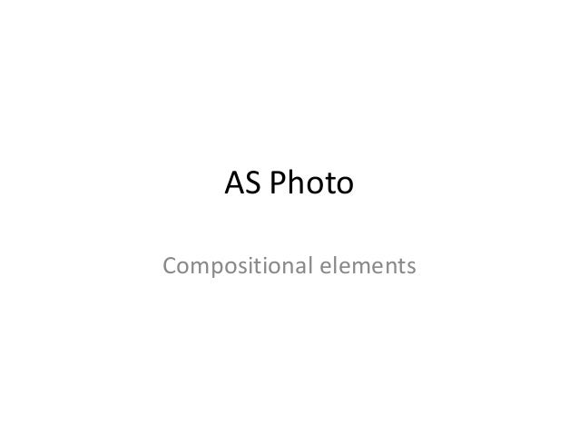 AS Photo Compositional elements
