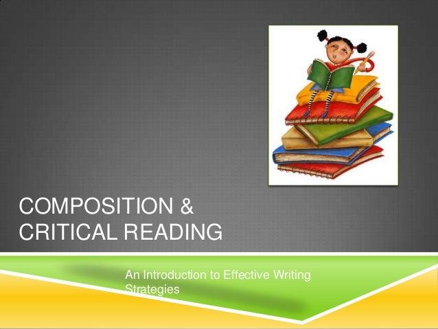 Composition & critical reading 2