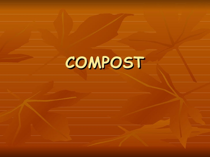 Compost,powerpoint