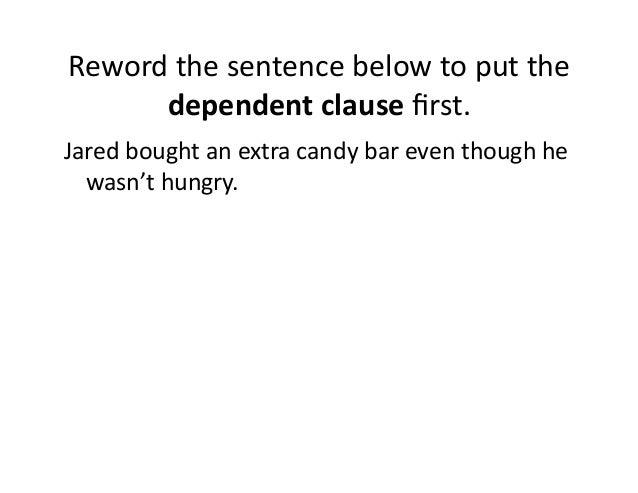 Reword this sentence