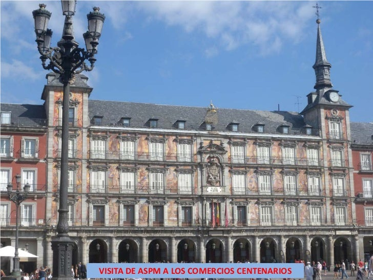 VISITA DE ASPM A LOS COMERCIOS CENTENARIOS