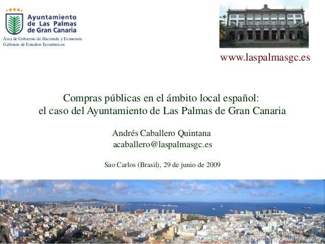 Área de Gobierno de Hacienda y EconomíaGabinete de Estudios Económicos                                                    ...