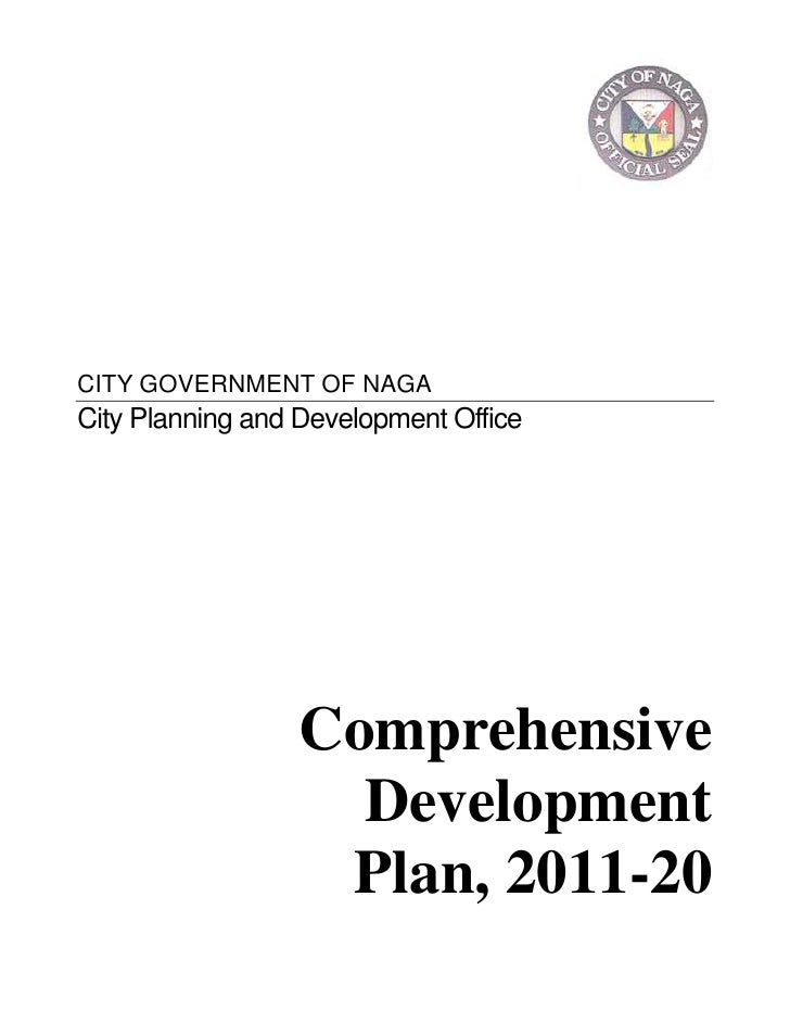 Naga City Comprehensive  Development  Plan, 2011-20