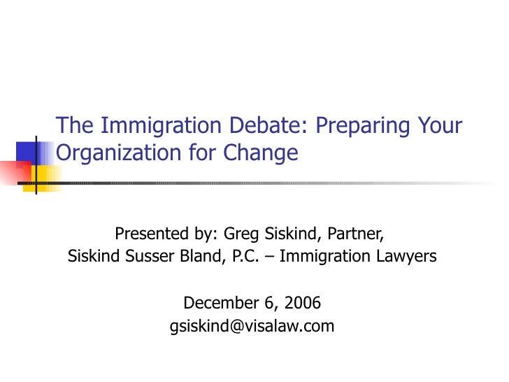 Comprehensive Immigration Reform Overview