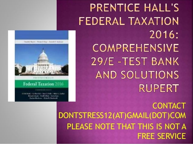 cache federal taxation comprehensive topics 2013 chapter 9 Presentation transcript slide 1 cch federal taxation comprehensive topics chapter 19 partnerships—formation and operation ©2005 , cch incorporated 4025 w.