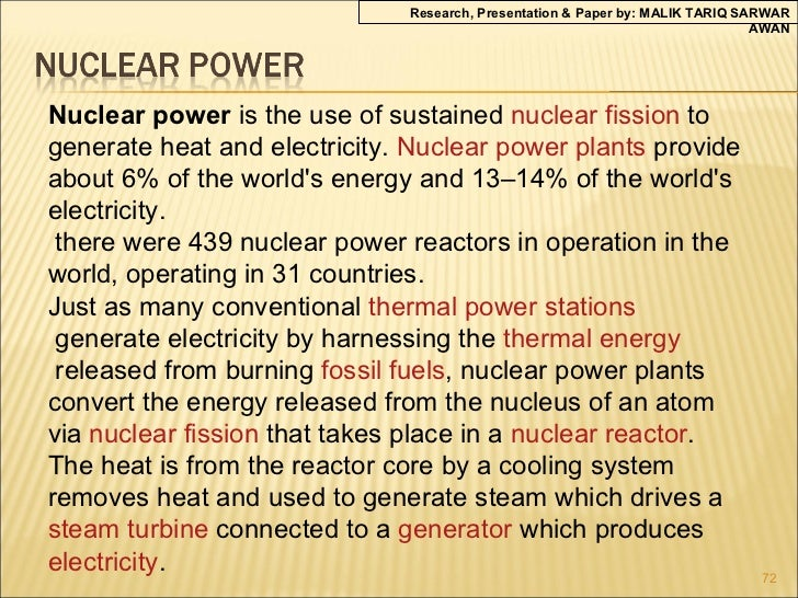 "nuclear energy research paper outline Most countries today are becoming more and more dependent on nuclear power as a source of energy an argumentative essay ""use of nuclear research."
