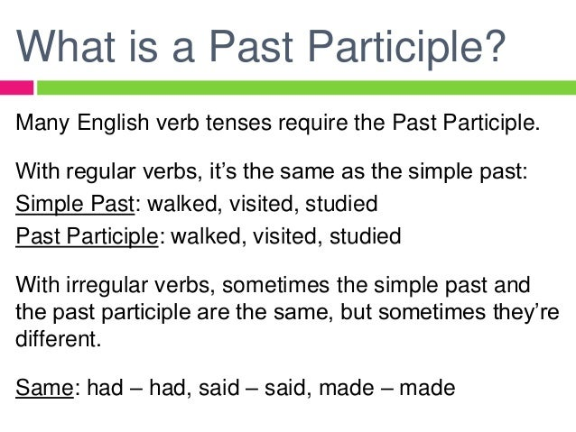 Past participle of rencontre in french