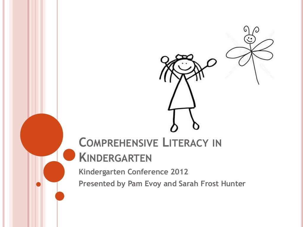 Comprehensive Literacy In Kindergarten - Interactive Read Aloud