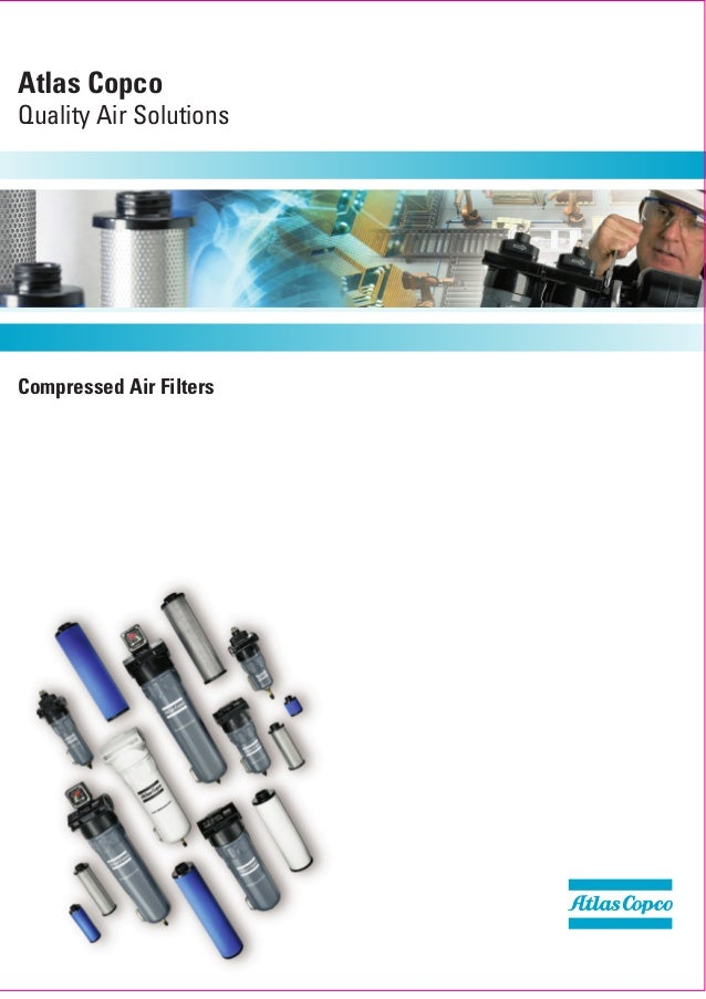 Compressed air filters copco