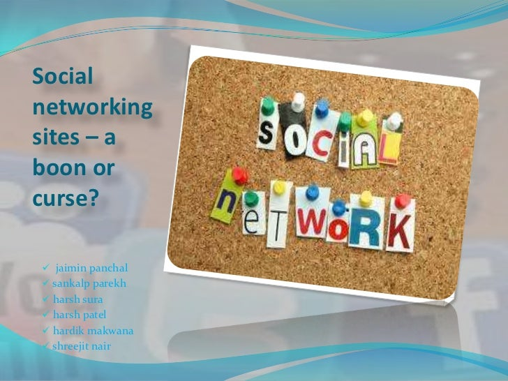 social media boon or bane essay Social media a boon or bane one should control the 'social media' at will and should not allow the 'social media' to control oneself or one's fate.