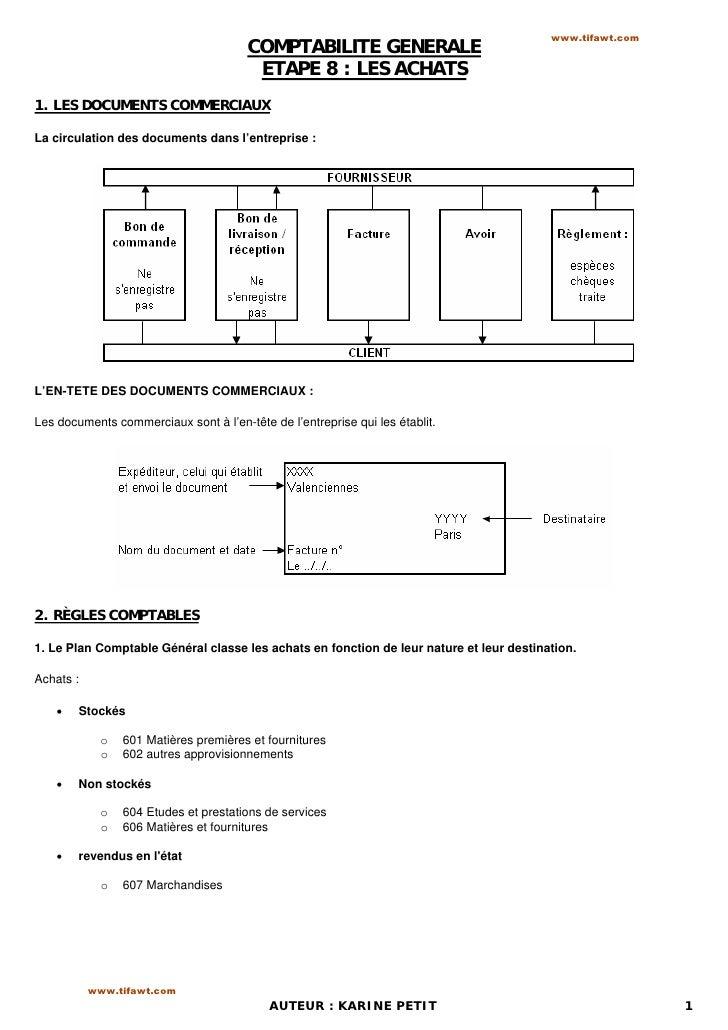 www.tifawt.com                                       COMPTABILITE GENERALE                                        ETAPE 8 ...