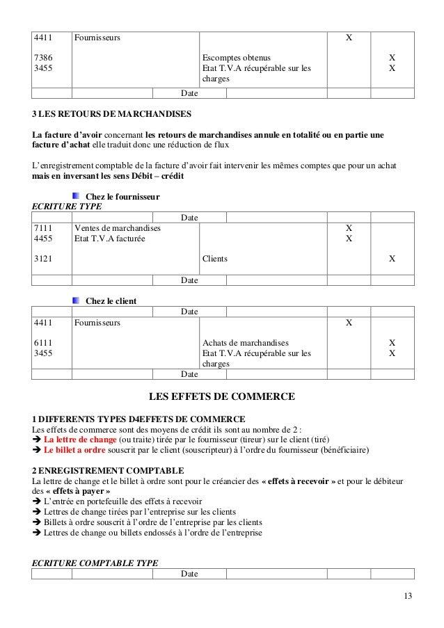 Comptabilite generale cours et exercices corriges www - Exercice d enregistrement comptable ...