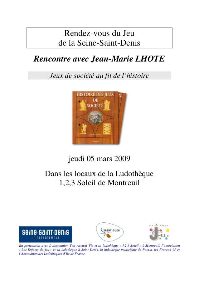 En partenariat avec L'association Toit Accueil Vie et sa ludothèque « 1,2,3 Soleil » à Montreuil, l'association « Les Enfa...