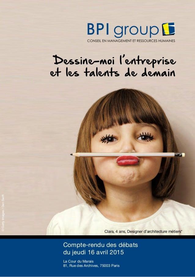 1 Dessine-moi l'entreprise et les talents de demain Clara, 4 ans, Designer d'architecture métiers* ©GettyImages/DanSwift C...