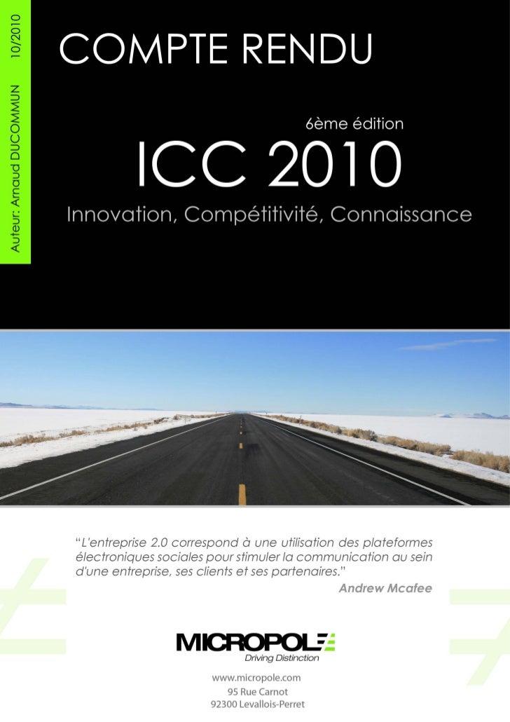 Compte rendu event_icc2010