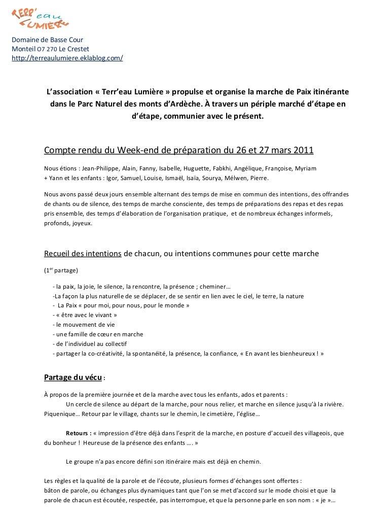 Domaine de Basse CourMonteil O7 270 Le Crestethttp://terreaulumiere.eklablog.com/           L'association « Terr'eau Lumiè...