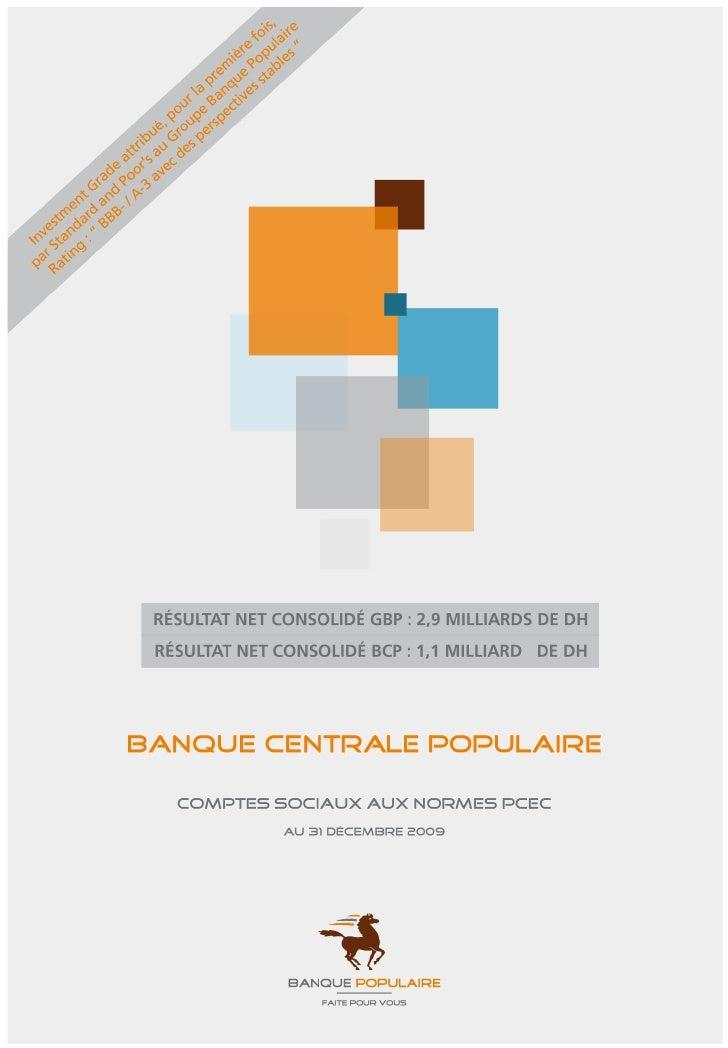Comptes Sociaux Bcp Aux Normes Pcec