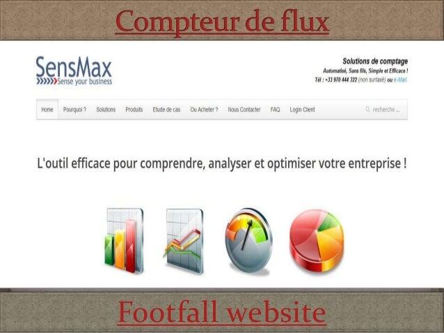 Footfall website