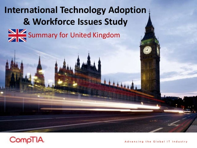 International Technology Adoption & Workforce Issues Study - UK Summary