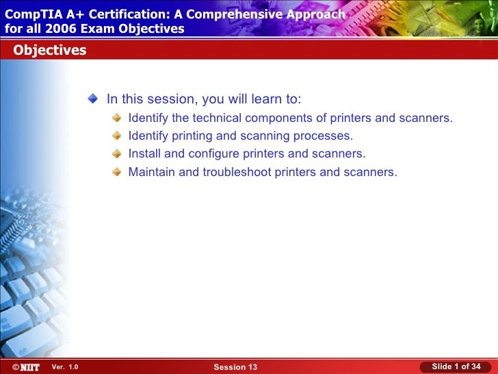 CompTIA A+ Certification: A Comprehensive Approach Installing Windows XP Professional Using Attended Installationfor all 2...
