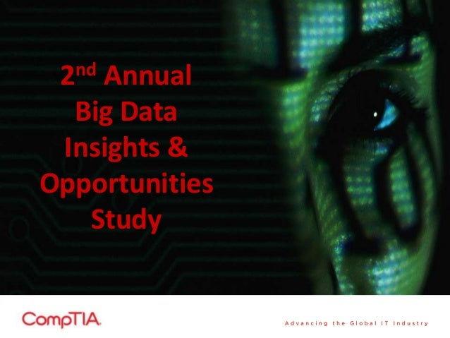 2nd Annual Big Data Insights & Opportunities Study