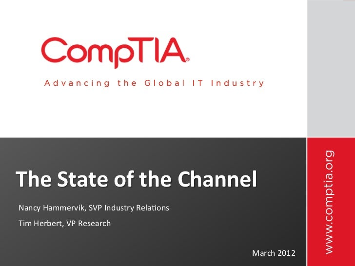 State of the IT Channel