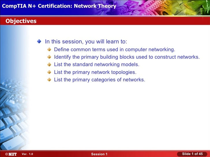 CompTIA N+ Certification: Network Theory Attended Installation Installing Windows XP Professional Using Objectives        ...
