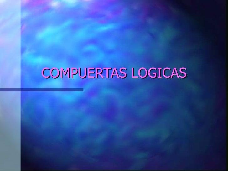 Compuertas logicas1