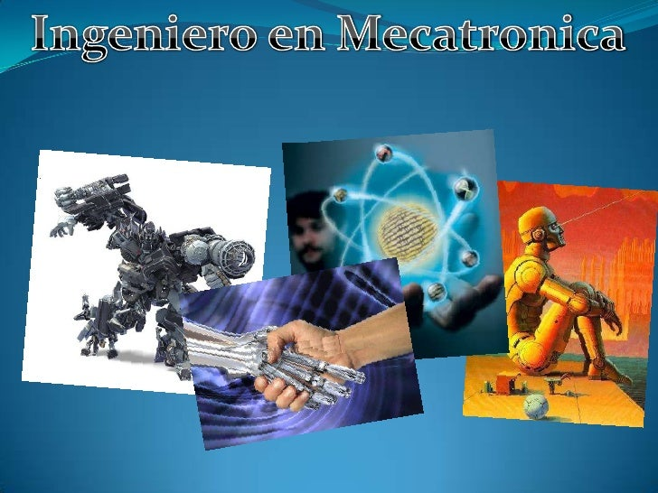 Ingeniero en Mecatronica<br />