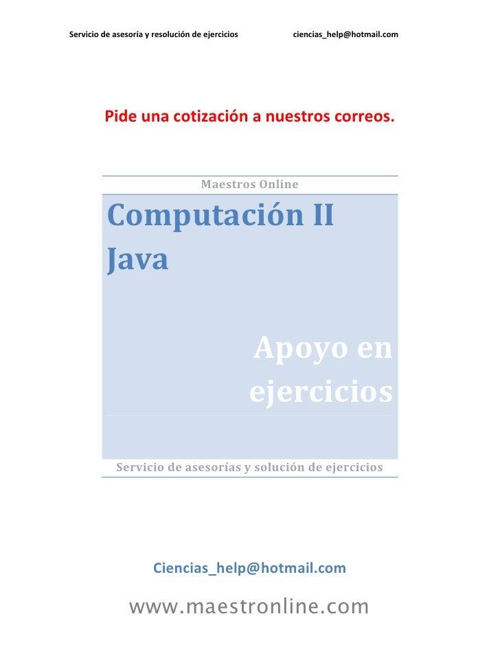 Computación 2 java