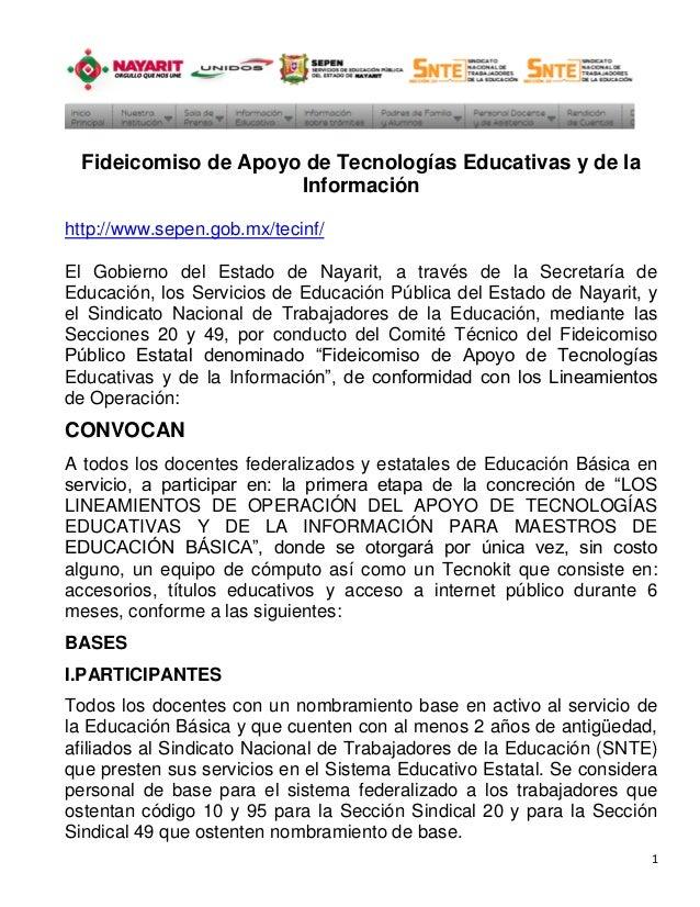 Fideicomiso de Apoyo de Tecnologías Educativas y de la                      Informaciónhttp://www.sepen.gob.mx/tecinf/El G...